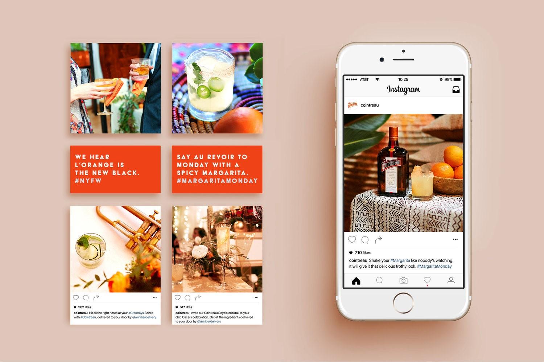примеры рекламных картинок в инстаграм выполнена жаккардовой